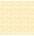 Striped beige metaball seamless pattern vector image vector image