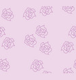 background texture rose vector image vector image