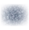 Christmas silver abstract background vector image vector image