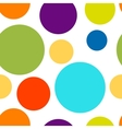 Funny colorful dots seamless pattern for your vector image