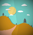 Paper Nature Flat Design vector image vector image