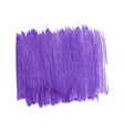 purple abstract watercolor isolated on white vector image