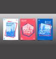 annual report 2020202120222023 future vector image