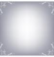 Background with corners vector image vector image
