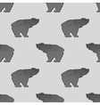 Bear Polygonal Seamless Pattern vector image vector image