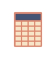 Calculator flat icon sign vector image vector image