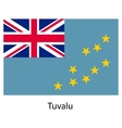 Flag of the country tuvalu vector image vector image