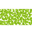 green leaves autumn vector image vector image