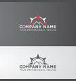 modern icon logo design vector image