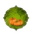Orange Pumpkin Background vector image vector image