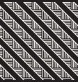 stylish lines maze lattice ethnic monochrome vector image vector image