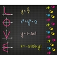 The mathematical approach to love vector image