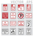 traffic sign road graphic vector image vector image