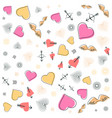 valentines day wedding memphis pattern 80s 90s vector image vector image