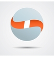 Color spheres set vector image