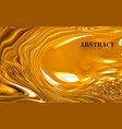 abstract acrylic paint waves surface texture vector image vector image