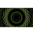 Abstract green tech background vector image vector image
