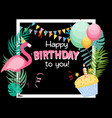 Birthday card congratulation template