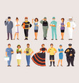 collection of professions part 3 vector image vector image