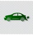 Eco car concept Go green vector image vector image