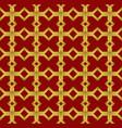 geometric seamless ornament arabic pattern vector image vector image