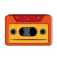 old music cassette vector image vector image