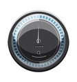 Speedometer to calculate speed icon cartoon style vector image vector image