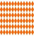 Tile orange pattern vector image vector image