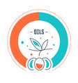 website banner and landing page oils vector image vector image