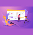 workflow creative concept vector image