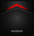 abstract red and black color gradient contrast vector image vector image