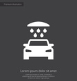 car wash premium icon vector image