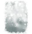 Elegant snowflakes winter background EPS 8 vector image