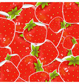 Labels Strawberry vector image