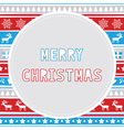 Merry Christmas greeting card29 vector image vector image
