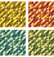 Set of Colorful Geometric Seamless textures raster vector image vector image