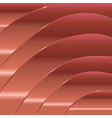 smooth wavy abstract background vector image vector image
