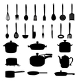 Kitchen Materials set vector image