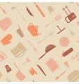 Symbol kitchen pattern vector image
