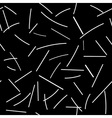 abstract line background black and white vector image vector image
