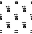 Blender icon in black style isolated on white vector image vector image
