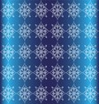Blue Floral Luxury Ornamental Pattern Background vector image vector image