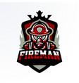colorful emblem sticker badge logotype vector image vector image