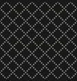 dark geometric seamless pattern with diamonds vector image vector image