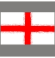 English St George Flag vector image vector image