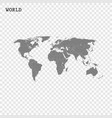 high quality world map vector image