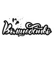 lettering magic in russian vector image vector image