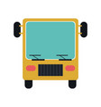 bus icon image vector image vector image