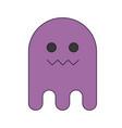 cartoon ghost icon vector image