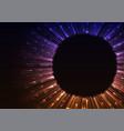 multicolor circle digital abstract sheet backgroun vector image vector image